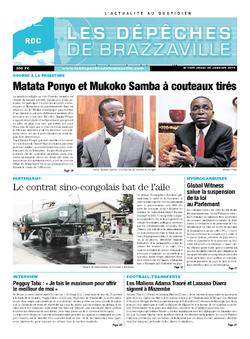 Les Dépêches de Brazzaville : Édition kinshasa du 30 janvier 2014