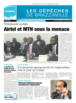 Les Dépêches de Brazzaville : Édition brazzaville du 31 janvier 2014