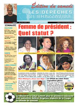 Les Dépêches de Brazzaville : Édition du 6e jour du 01 février 2014