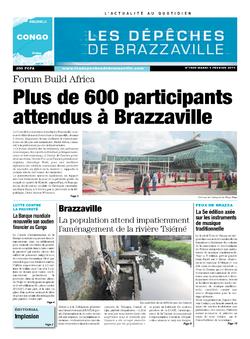 Les Dépêches de Brazzaville : Édition brazzaville du 04 février 2014