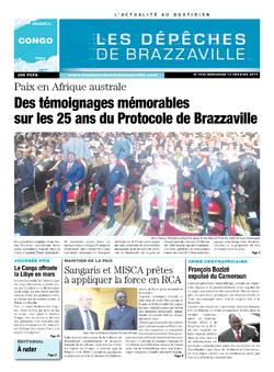 Les Dépêches de Brazzaville : Édition brazzaville du 12 février 2014