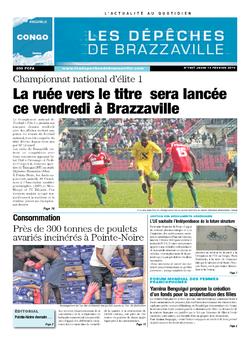 Les Dépêches de Brazzaville : Édition brazzaville du 13 février 2014