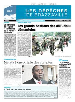 Les Dépêches de Brazzaville : Édition kinshasa du 17 février 2014