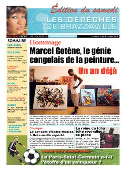 Les Dépêches de Brazzaville : Édition du 6e jour du 22 février 2014