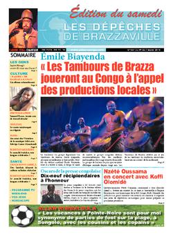 Les Dépêches de Brazzaville : Édition du 6e jour du 01 mars 2014