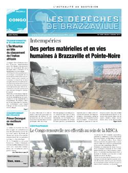Les Dépêches de Brazzaville : Édition brazzaville du 06 mars 2014