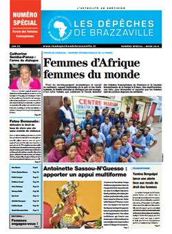 Les Dépèches de Brazzaville : Edition spéciale du 08 mars 2014