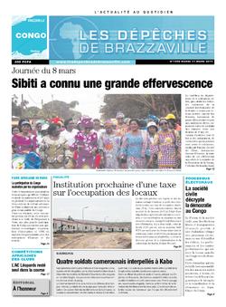 Les Dépêches de Brazzaville : Édition brazzaville du 11 mars 2014