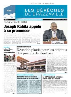 Les Dépêches de Brazzaville : Édition kinshasa du 12 mars 2014