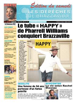 Les Dépêches de Brazzaville : Édition du 6e jour du 15 mars 2014