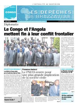 Les Dépêches de Brazzaville : Édition brazzaville du 18 mars 2014