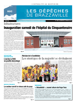 Les Dépêches de Brazzaville : Édition kinshasa du 21 mars 2014