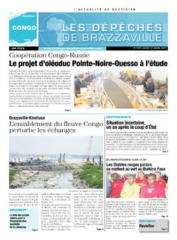Les Dépêches de Brazzaville : Édition brazzaville du 27 mars 2014