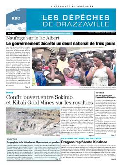 Les Dépêches de Brazzaville : Édition kinshasa du 28 mars 2014