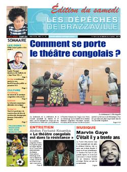 Les Dépêches de Brazzaville : Édition du 6e jour du 29 mars 2014
