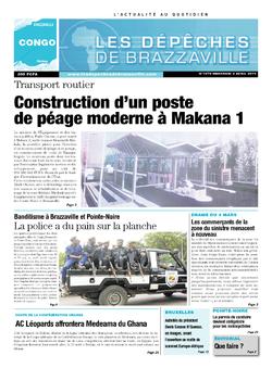 Les Dépêches de Brazzaville : Édition brazzaville du 02 avril 2014