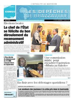 Les Dépêches de Brazzaville : Édition brazzaville du 11 avril 2014
