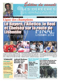 Les Dépêches de Brazzaville : Édition du 6e jour du 12 avril 2014