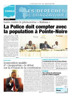 Les Dépêches de Brazzaville : Édition brazzaville du 14 avril 2014