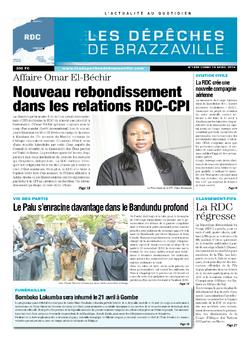 Les Dépêches de Brazzaville : Édition kinshasa du 14 avril 2014