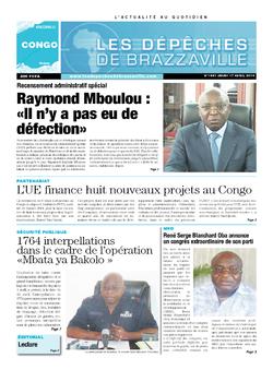 Les Dépêches de Brazzaville : Édition brazzaville du 17 avril 2014