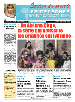 Les Dépêches de Brazzaville : Édition du 6e jour du 19 avril 2014