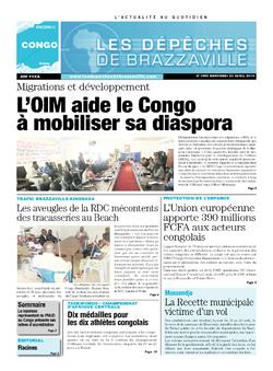 Les Dépêches de Brazzaville : Édition brazzaville du 23 avril 2014