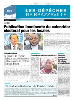 Les Dépêches de Brazzaville : Édition kinshasa du 23 avril 2014