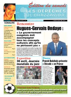 Les Dépêches de Brazzaville : Édition du 6e jour du 26 avril 2014