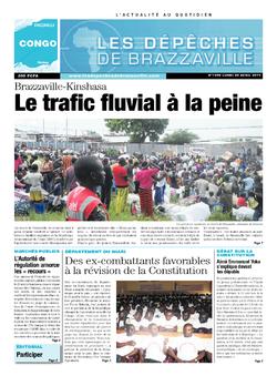 Les Dépêches de Brazzaville : Édition brazzaville du 28 avril 2014