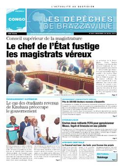Les Dépêches de Brazzaville : Édition brazzaville du 30 avril 2014