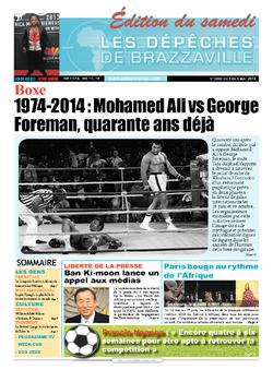 Les Dépêches de Brazzaville : Édition du 6e jour du 03 mai 2014