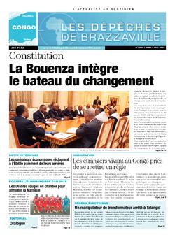 Les Dépêches de Brazzaville : Édition brazzaville du 05 mai 2014