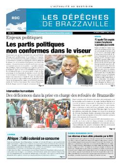 Les Dépêches de Brazzaville : Édition kinshasa du 05 mai 2014