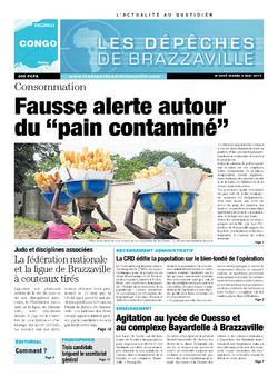 Les Dépêches de Brazzaville : Édition brazzaville du 06 mai 2014