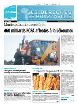Les Dépêches de Brazzaville : Édition brazzaville du 07 mai 2014
