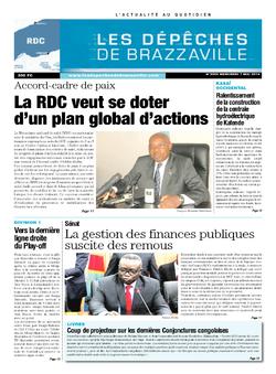 Les Dépêches de Brazzaville : Édition kinshasa du 07 mai 2014