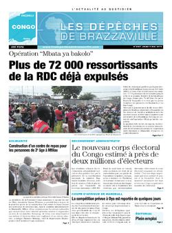 Les Dépêches de Brazzaville : Édition brazzaville du 08 mai 2014
