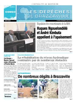 Les Dépêches de Brazzaville : Édition brazzaville du 09 mai 2014