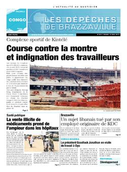 Les Dépêches de Brazzaville : Édition brazzaville du 13 mai 2014