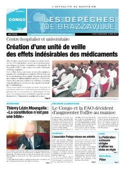 Les Dépêches de Brazzaville : Édition brazzaville du 14 mai 2014