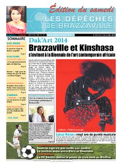 Les Dépêches de Brazzaville : Édition du 6e jour du 17 mai 2014