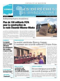 Les Dépêches de Brazzaville : Édition brazzaville du 20 mai 2014