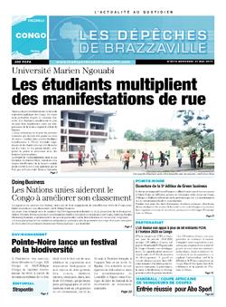 Les Dépêches de Brazzaville : Édition brazzaville du 21 mai 2014
