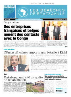 Les Dépêches de Brazzaville : Édition brazzaville du 26 mai 2014