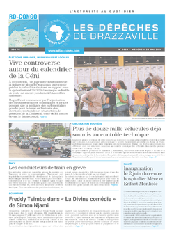 Les Dépêches de Brazzaville : Édition kinshasa du 28 mai 2014