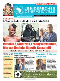 Les Dépêches de Brazzaville : Édition du 6e jour du 31 mai 2014