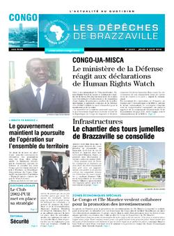 Les Dépêches de Brazzaville : Édition brazzaville du 05 juin 2014