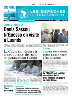 Les Dépêches de Brazzaville : Édition brazzaville du 06 juin 2014
