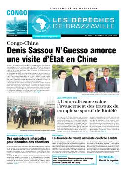 Les Dépêches de Brazzaville : Édition brazzaville du 11 juin 2014